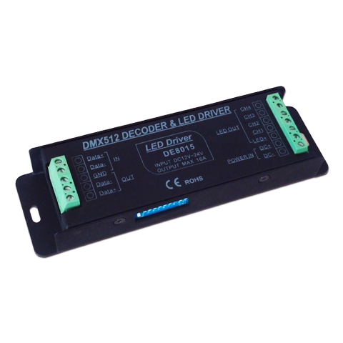 DE8015 4-Channel DMX Decoder - Lightwave | LED Lighting
